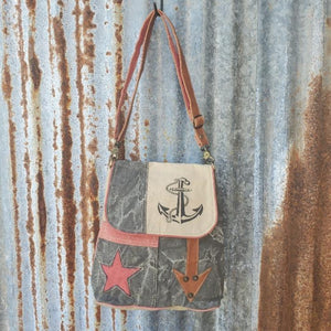 Star Arrow Anchor Crossbody Front
