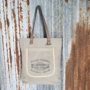 Vintage Outfitter Tote Front