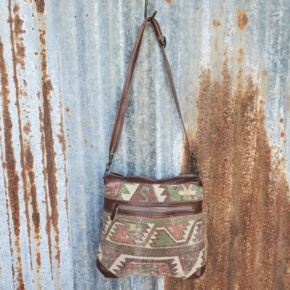 Indian Summer Pattern Cross Body Front