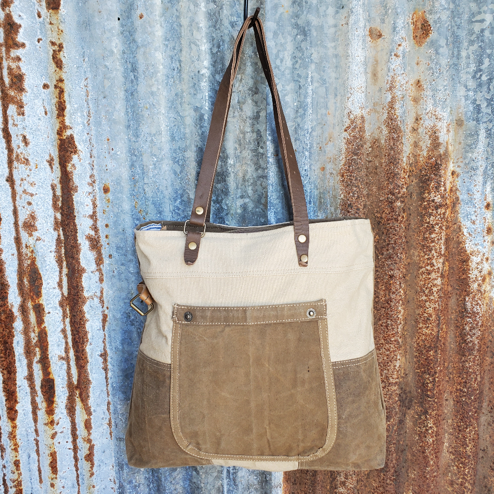 Plain Jane Canvas Tote Front