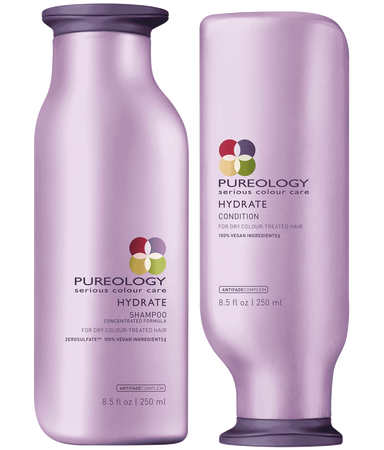 Pureology Hydrate Shampoo & Conditioner - TanglesOnline.Com