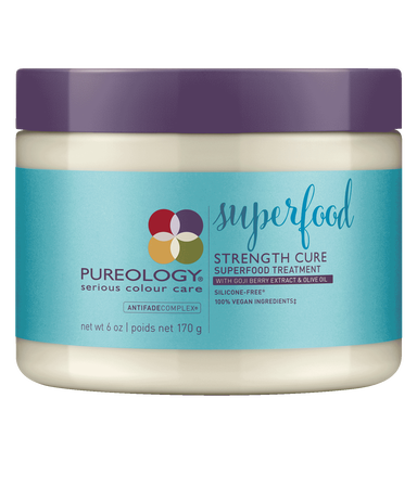 Pureology Strength Cure Superfood Treatment 6oz - TanglesOnline.Com