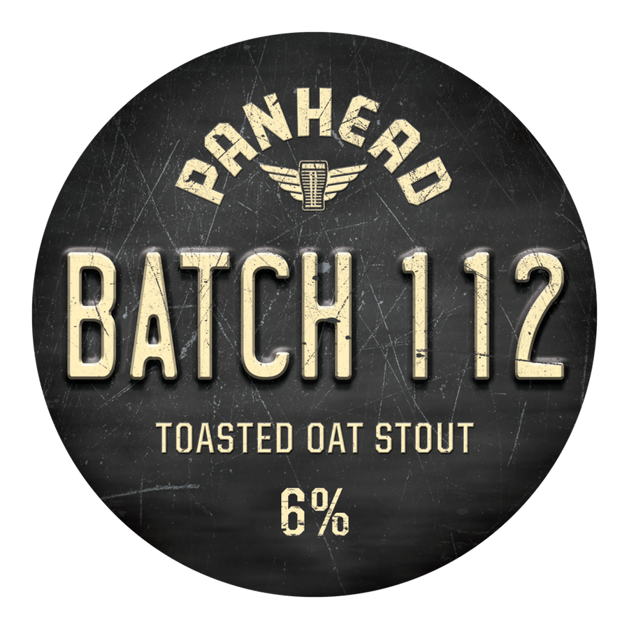 Batch 112 Toasted Oat Stout
