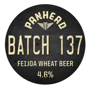 Batch 137 Feijoa Wheat Beer 1.25L