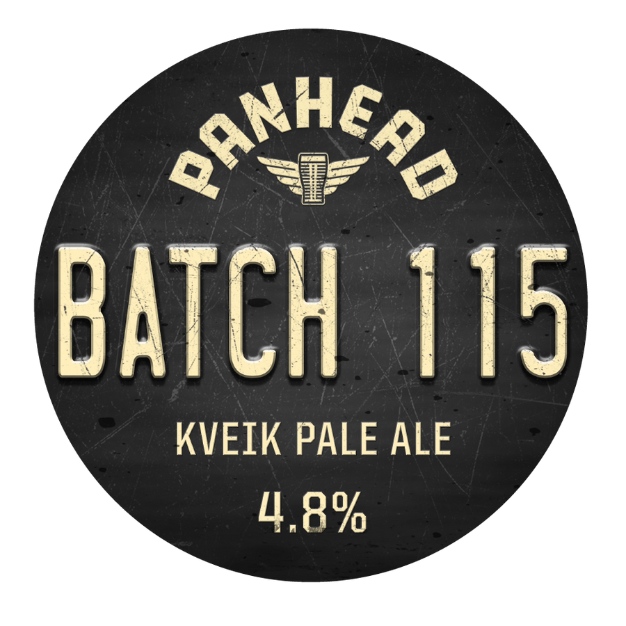 Batch 115 Kveik Pale Ale