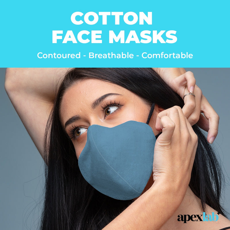 Cotton Non-Medical Face Coverings Deep Black
