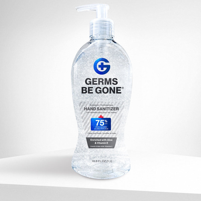 75% Germs Be Gone - 1 Liter (33.8oz)
