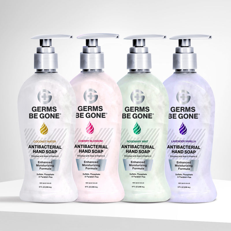 Germs Be Gone Antibacterial Soap Variety Pack - 236mL (8oz)