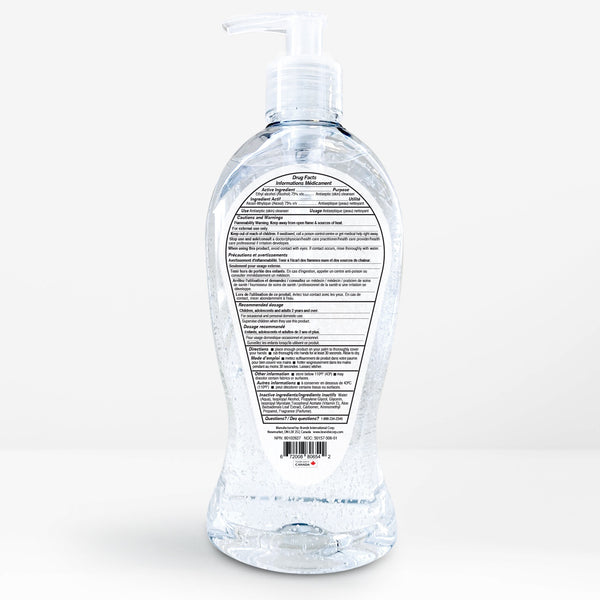 3 bottles - 75% Germs Be Gone - 236mL (8oz)