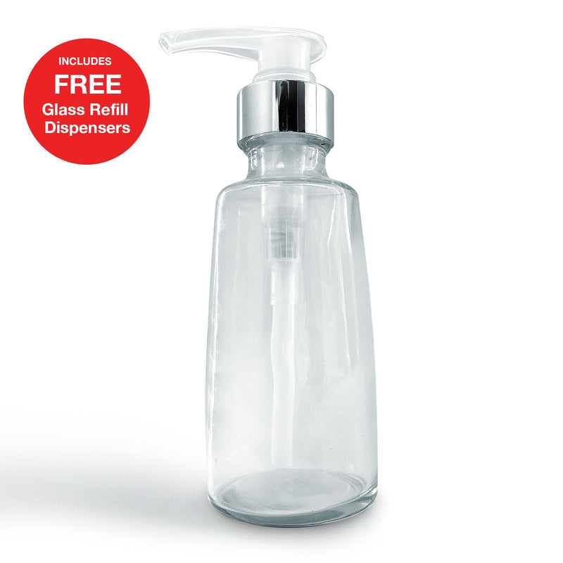 6 FREE glass refill dispenser