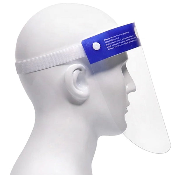 Pack of 6 - Protective Face Shield Anti-Fog Visor