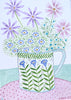 Original Artwork * Flowers In A Mug * Flower Power
