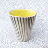 Vases * Medium * Gray Stripes