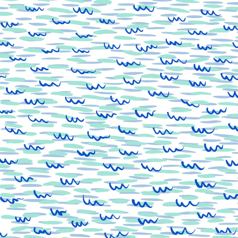 Fabric * Ocean Waves