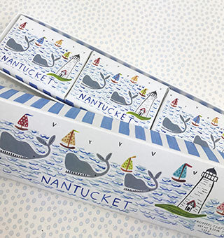Soap * Nantucket Whale and Boats