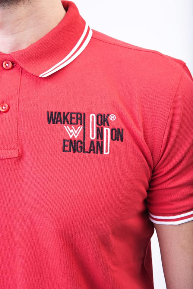 MENS CLASSIC WAKERLOOK FIT TIPPED POLO - Wakerlook