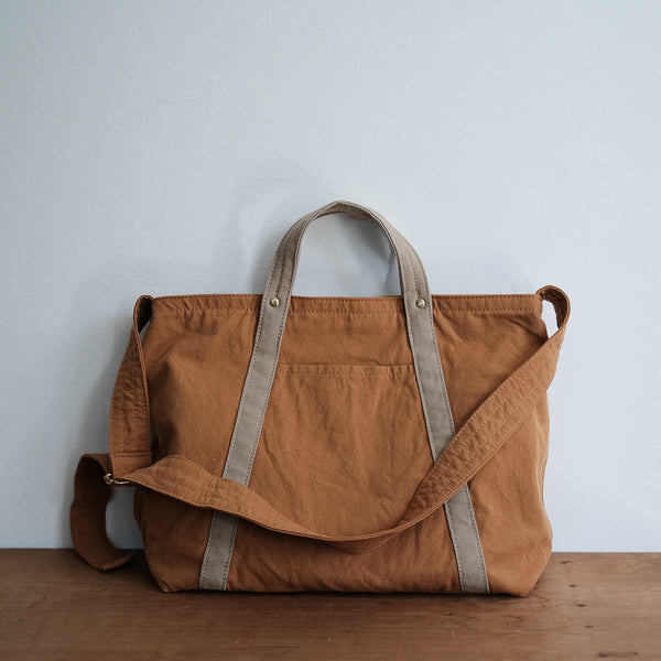 TEJIKA|CUSTOM BAG( camel × beige )