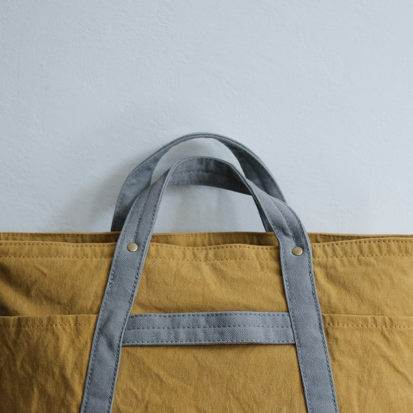 TEJIKA|CUSTOM BAG( mustard × light gray )
