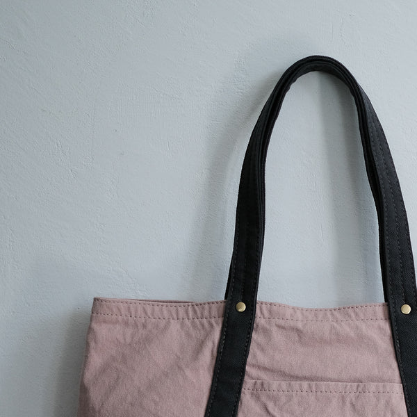 TEJIKA|CUSTOM BAG( pinl × charcoal gray )