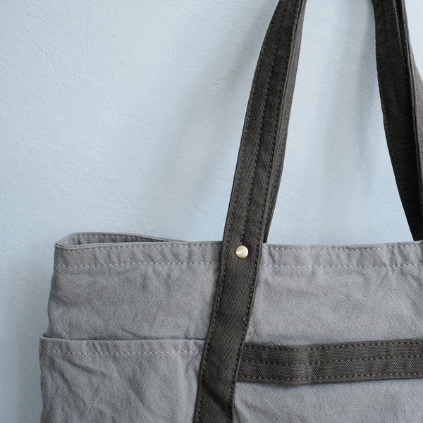 TEJIKA|CUSTOM BAG( gray × old khaki )