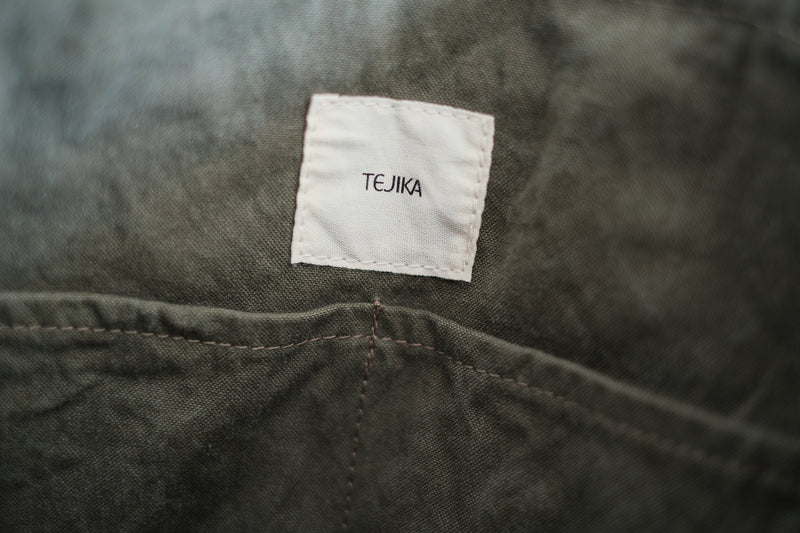TEJIKA|CUSTOM BAG( khaki × camel )