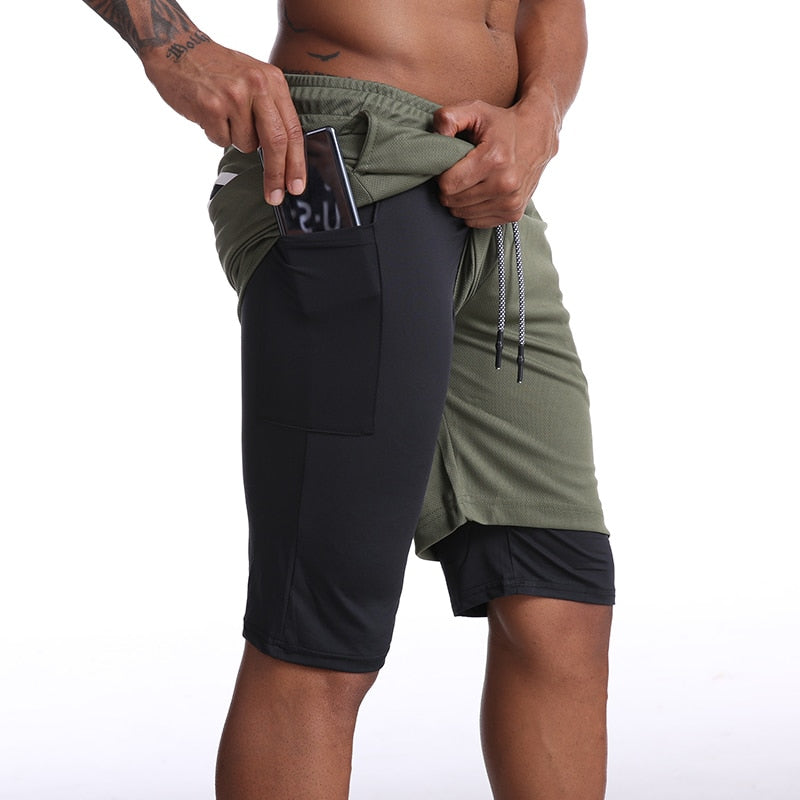 NewLeaf™ - 2 in 1 Compression Shorts Designed For Working Out