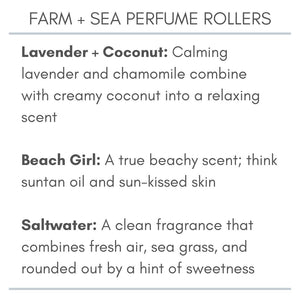 Farm + Sea Roll-On Perfume Oil