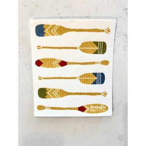 Swedish Dishcloth - Oars