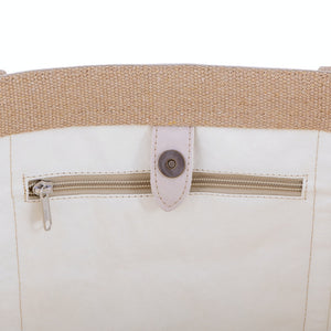 Genevieve Large Bag, Cream
