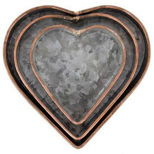 Load image into Gallery viewer, Metal Heart Tray