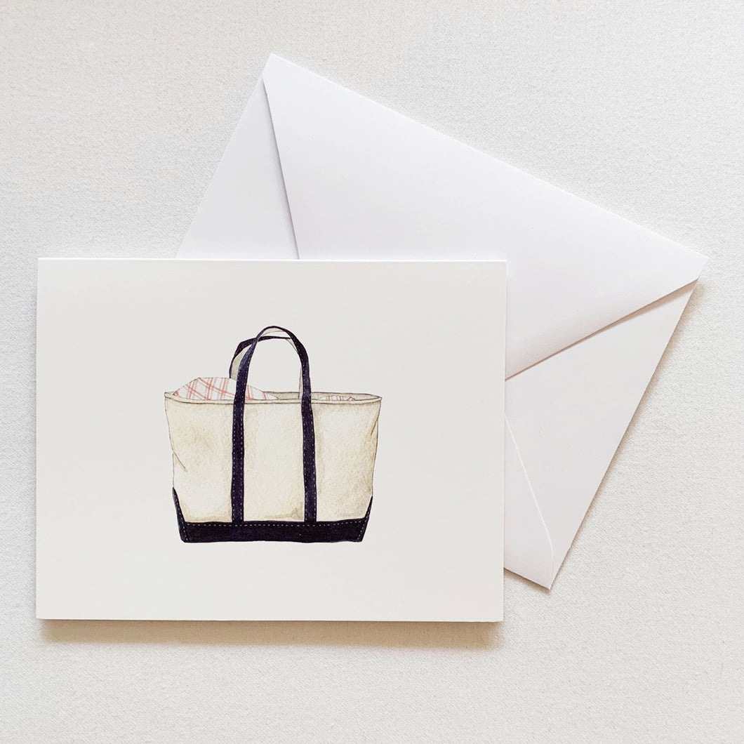 Canvas Tote Card