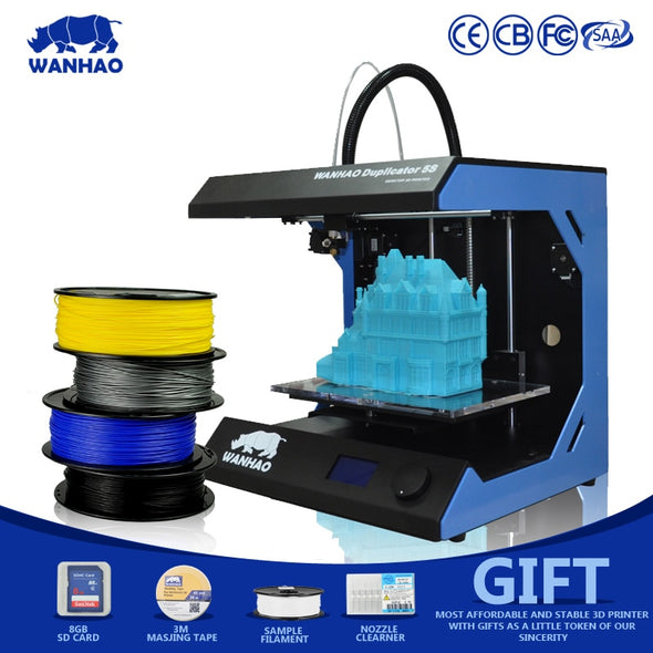 Wanhao D5S MiNi 3D Printer - Single Extruder