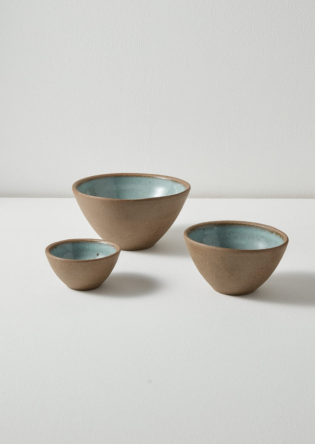 Leach Pottery Preparation Bowls | Iron Blue
