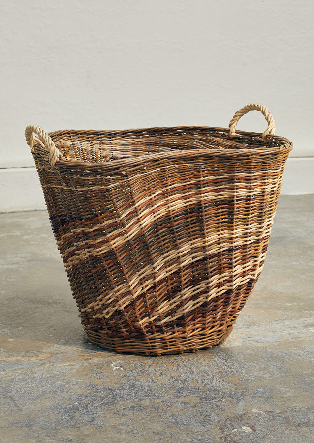 Julie Gurr Large Sculptural Willow Basket | Natural