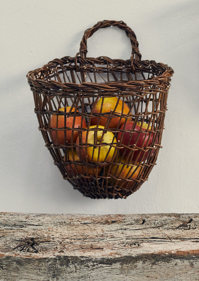 Julie Gurr Large Hanging Willow Basket | Natural
