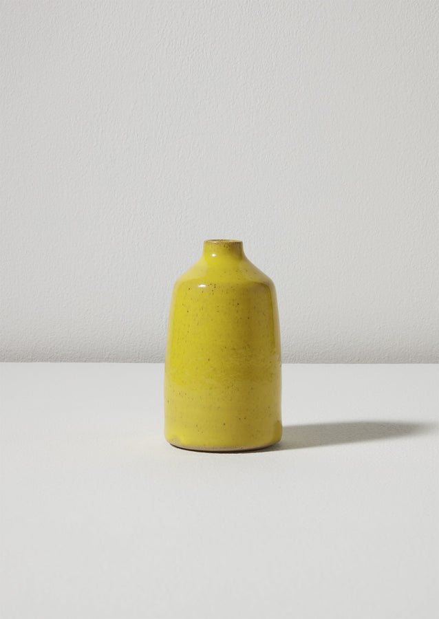 Lucy Rutter Small Bottle Vase | Yellow