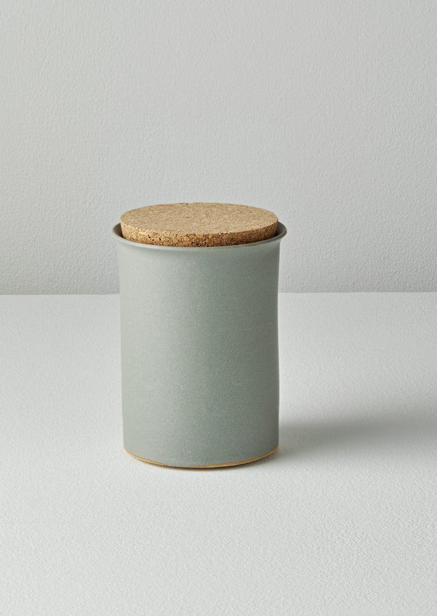 Cara Guthrie Tea Caddy | Mineral Blue