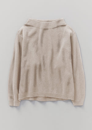 Recycled Cashmere Sweater | Oat