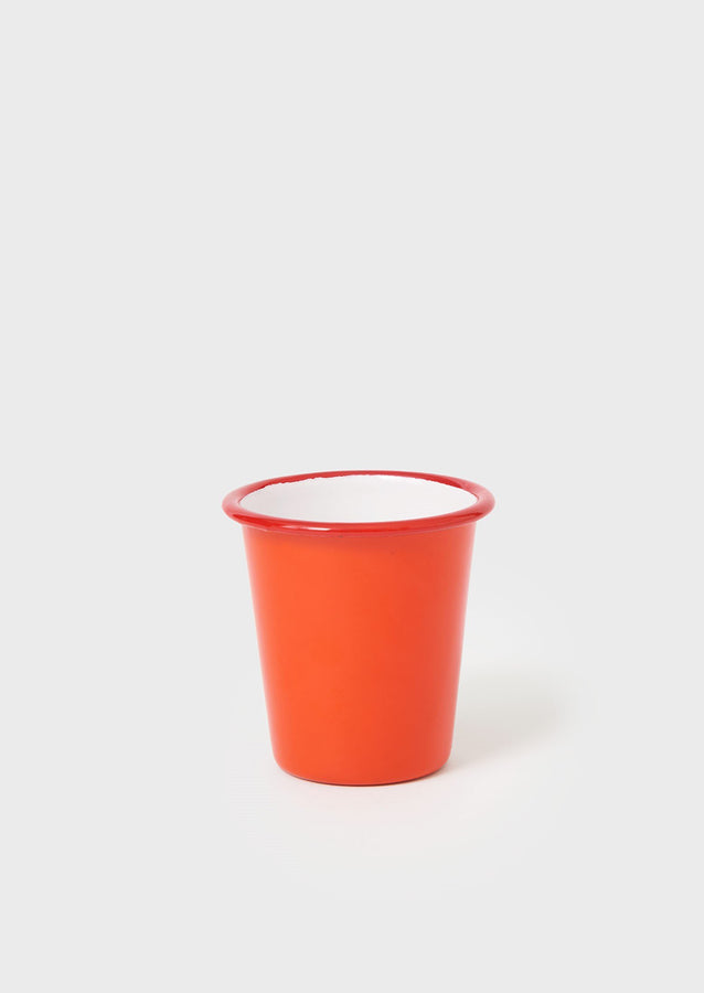 Falcon Enamel Cup | Red