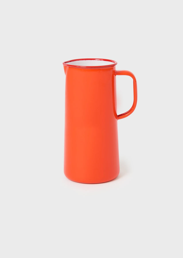 Falcon Enamel Pitcher | Red