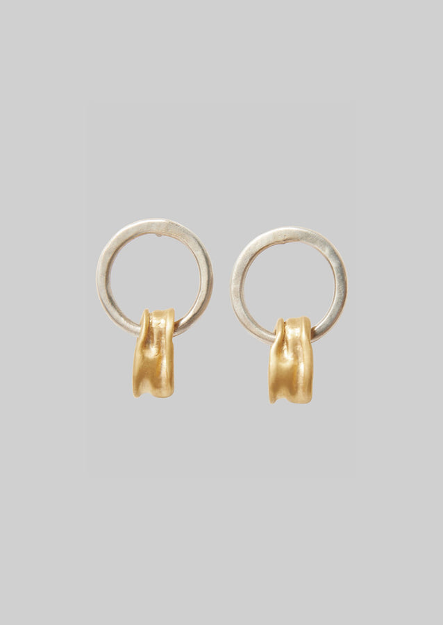 Emma Aitchison Drip Earrings | Silver/Gold