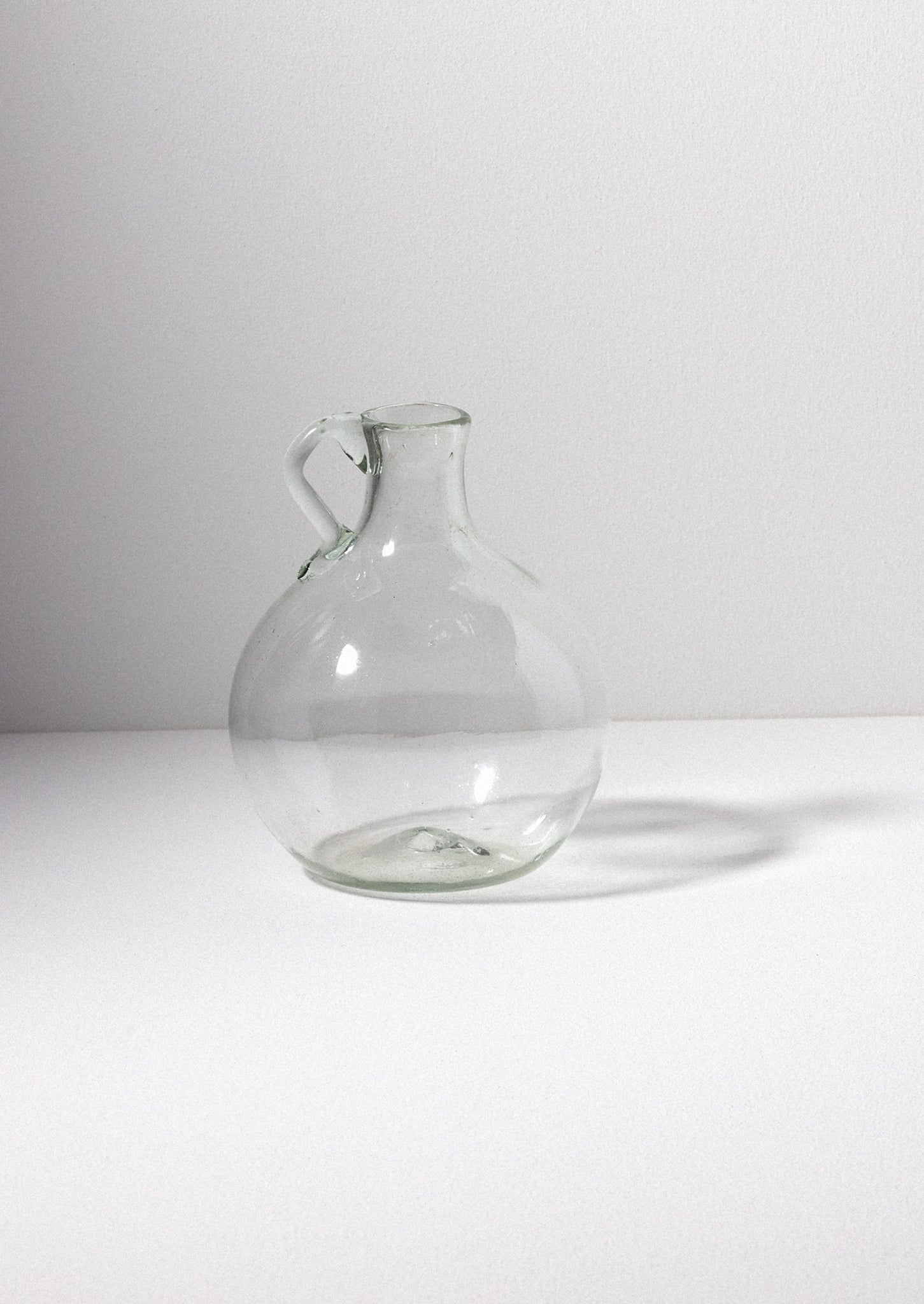 Hand Blown Roi Vase | Clear