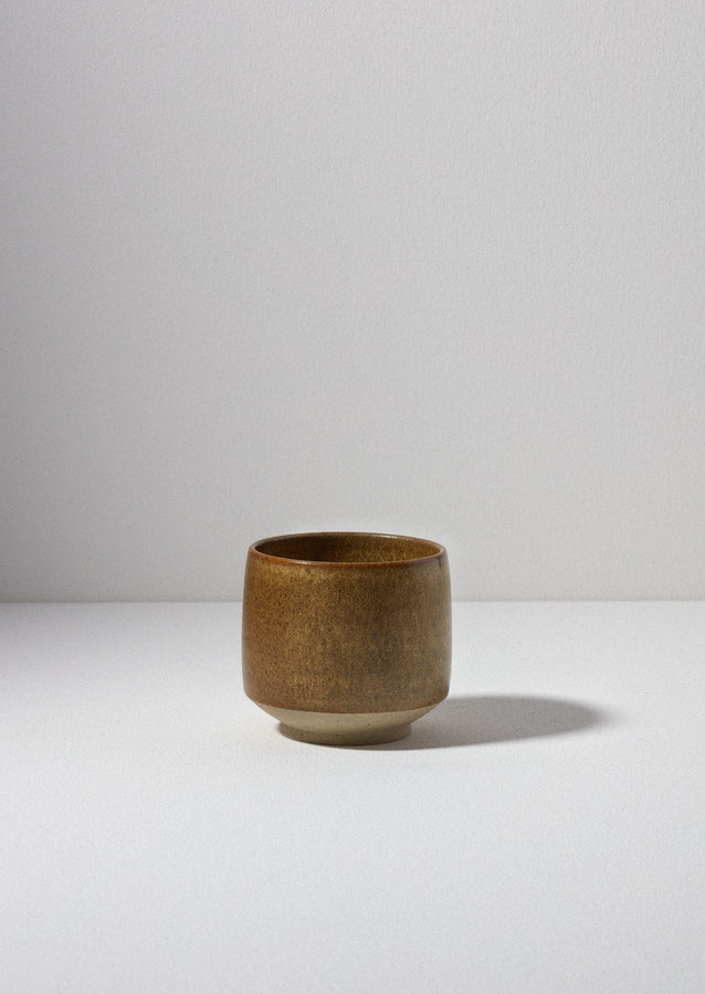 Pottery West Tea Bowl | Mustard