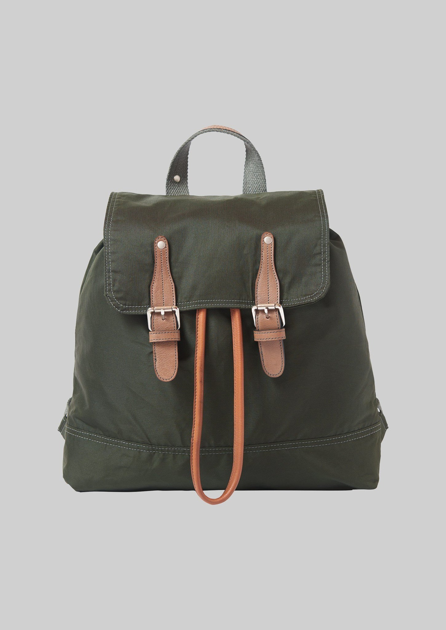 Vive La Difference Recycled Nylon Rucksack | Olive