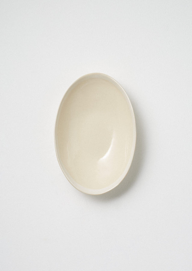 Wonki Ware White Wash Medium Etosha Bowl | Natural/White