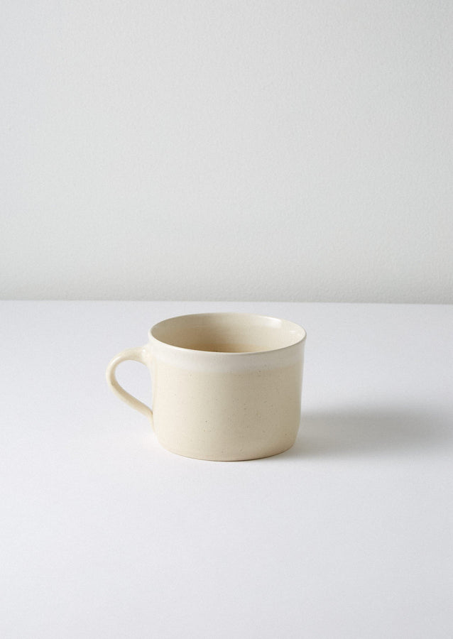 Wonki Ware White Wash Mug | Natural/White