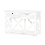 Hampton's Hall Table - 2 Drawer