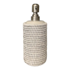 Round Liquid Soap Pump Rattan Sleeve