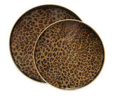 Round Safari Tray