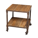 Industrial Side Table 2 level